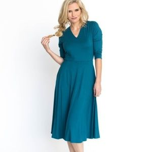 Agnes & Dora Teal Curie Dress size small